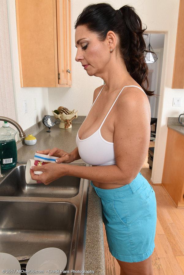 Milf Nude Kitchen
